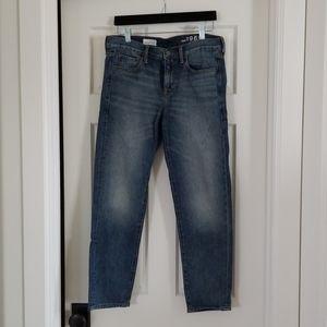 GAP Sexy boyfriend crop jeans. Excellent condition